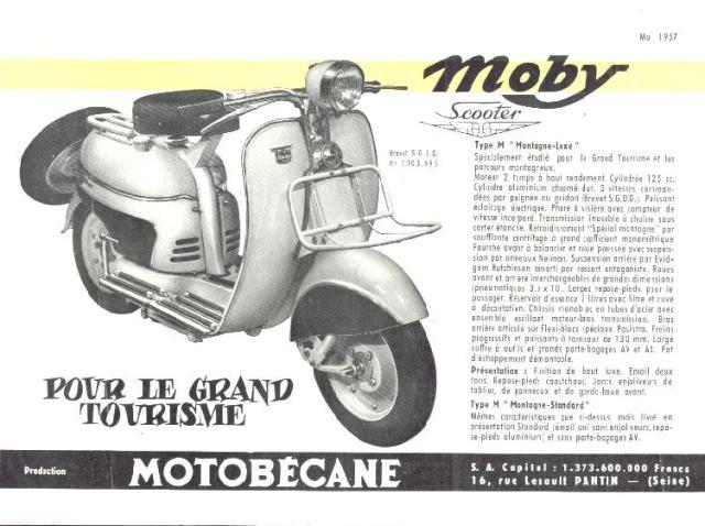 MOTOBECANE 1957