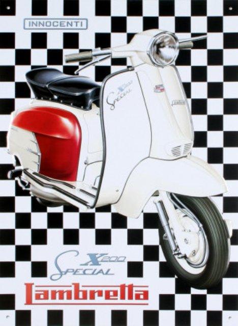 LAMBRETTA X 200 1963 ITALIE