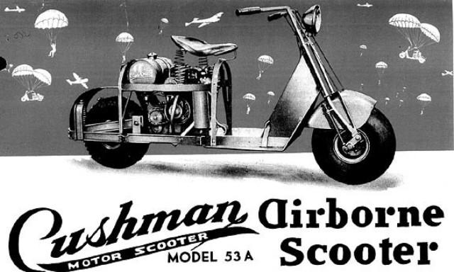 CUSHMAN AIRBORNE USA 1951
