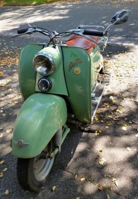 ZUNDAPP BELLA 200CC 1957 ALLEMAGNE