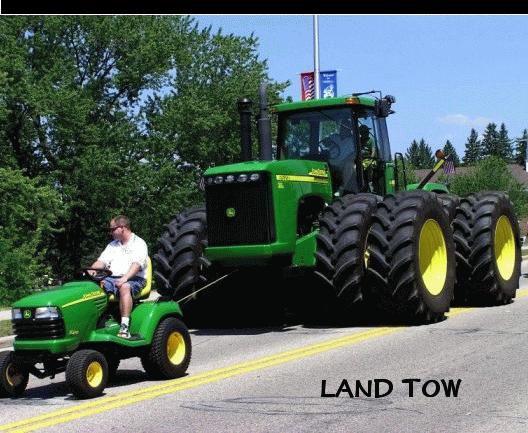 les plus gros tracteurs du monde 1890 a 2012