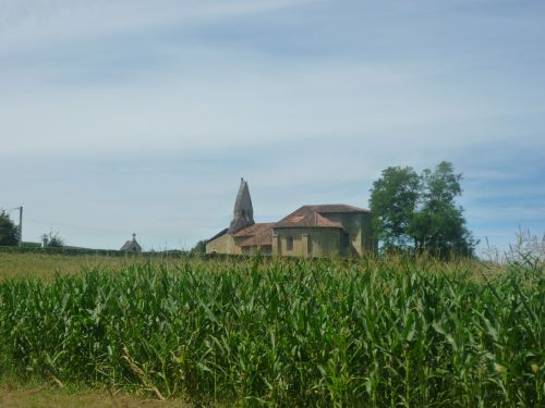 Eglise Romane de Sensacq (XIème/XIIème siècle)
