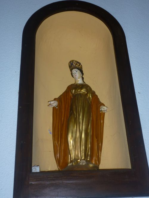 La Vierge Marie,  église d'Argagnon