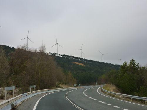 Après Asterain, vers el Monte del Perdon de Saint Guillem