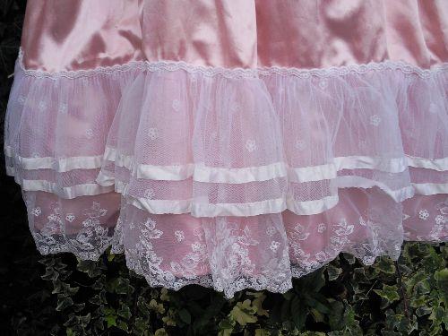 Robe de princesse.