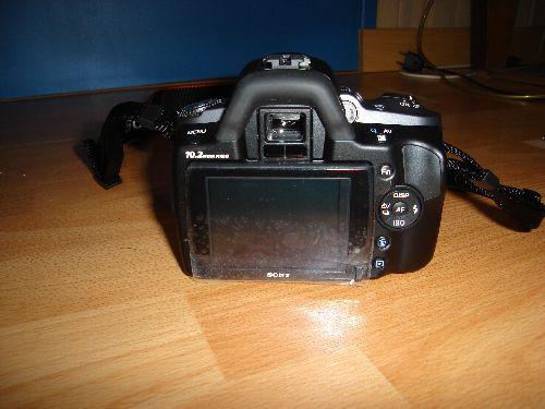 Sony a330 et objectif 18-55 SAM