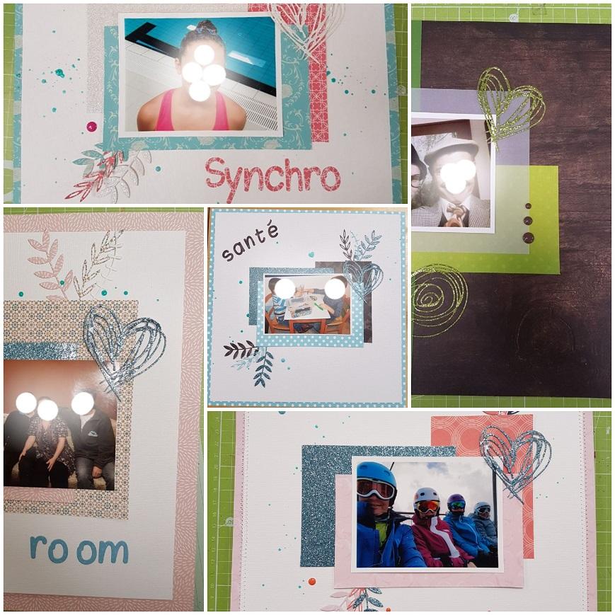 Quelques petites photos de nos pages du mois...