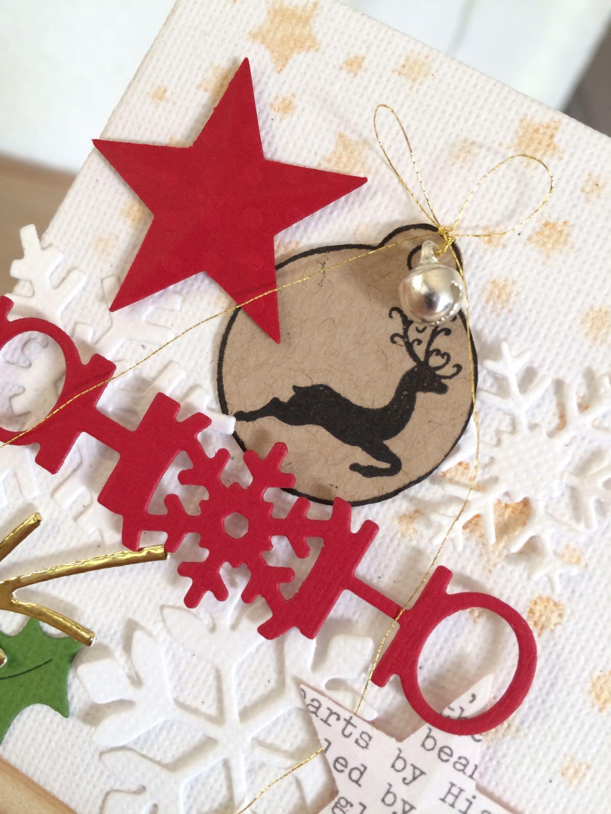 Une petite décoration de Noël
