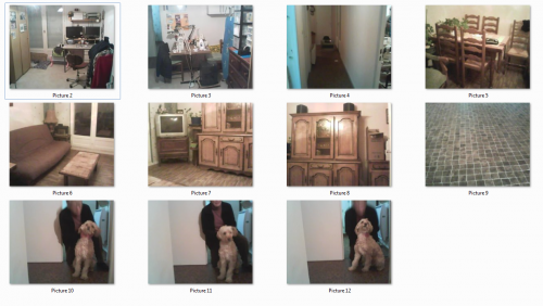Appartement de Mme Morand Edith