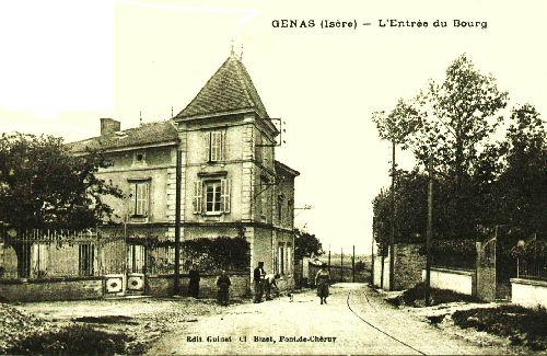la tour en 1900