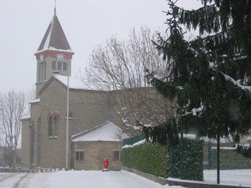 Neige à Genas