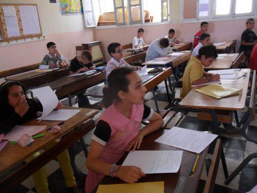Déroulement de  l'épreuve de langue arabe