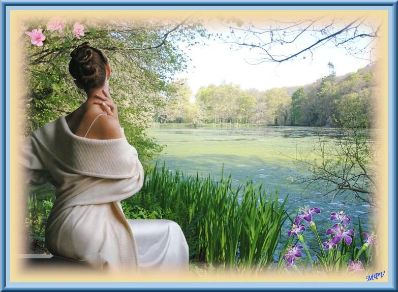 femme à l'étang.JPG