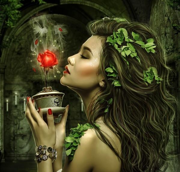 Femme qui respire une rose 5.jpg