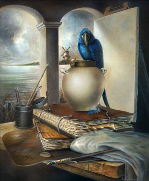 livres et perroquet.jpg