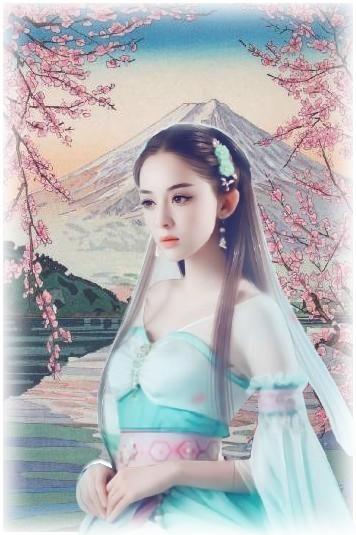 Femme au printemps japonais.jpg