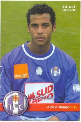 Alaixys à ses débuts au Toulouse FC.