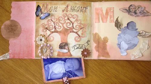 Mini album à pochette CD 2 - Challenge rounds SCRAP TA VIE
