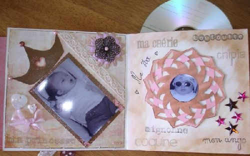 Mini album à pochette CD 3 - Challenge rounds SCRAP TA VIE
