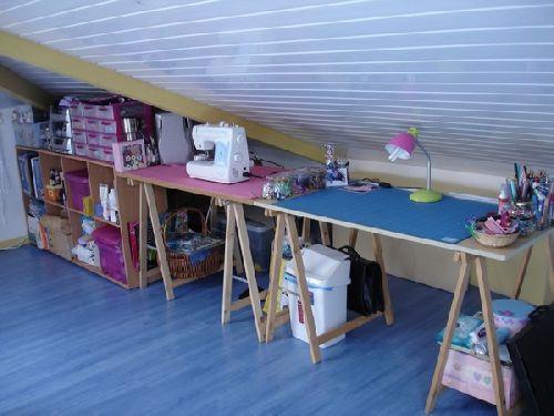 Scraproom- Atelier et coin couture