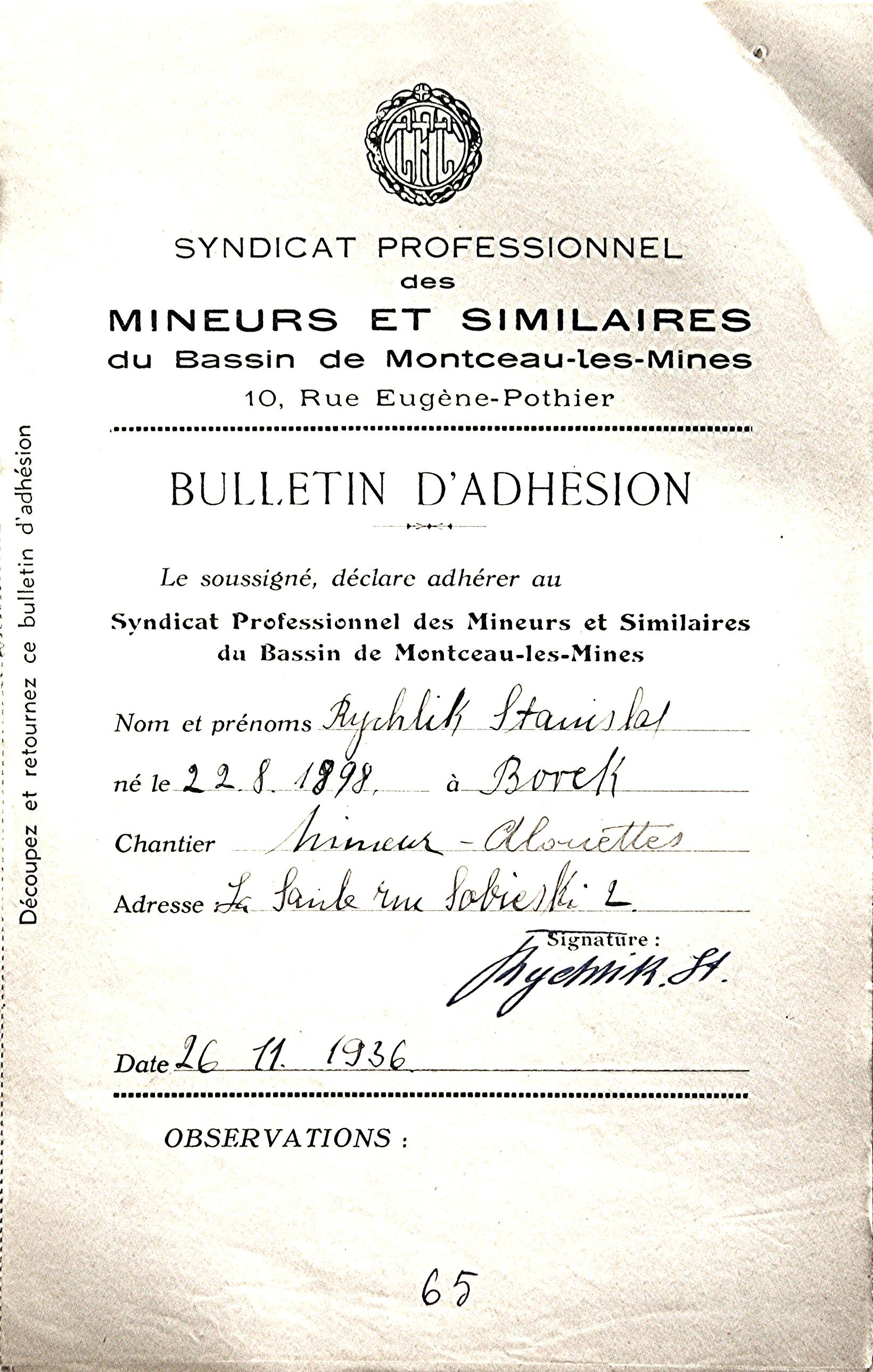 1936 CFTC - Rychlik Stanislaw (2)