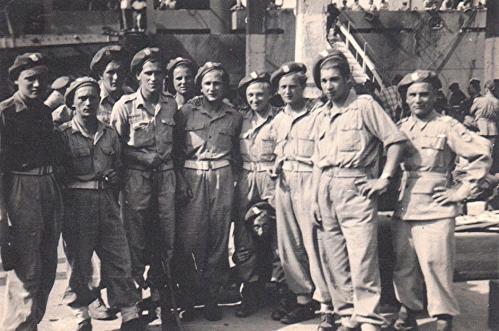 Ph12 - Voyage de Naples à Liverpool du 10 au 18.06.1946 Sur le Colorado Springs Victory  Navire américain.JPG
