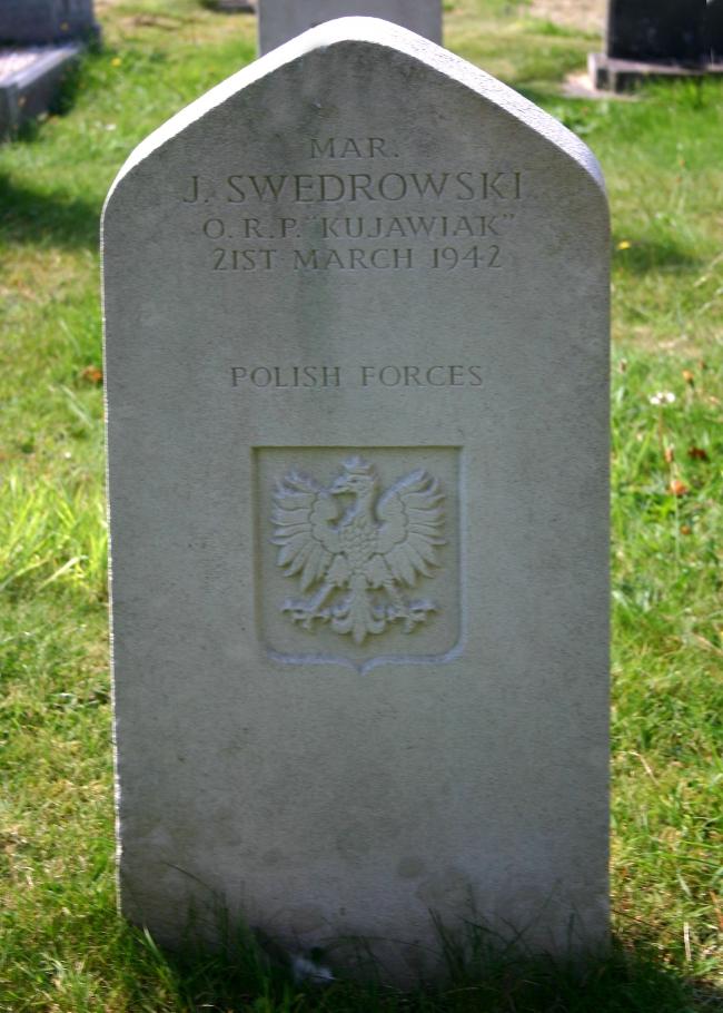 Swedrowski_J - Tombe Plymouth Kujawiak 21mars1942.JPG