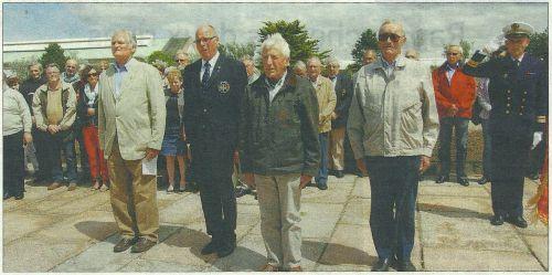 Les Anciens du Marsouin à Cherbourg.