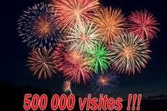 500 000 visites !