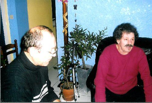 PIERRE AVEC LA MOUSTACHE : NOEL 2005 N°4