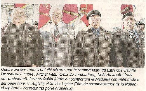 MICHEL VEAU DECORE à SAUMUR LE 08.11.2009