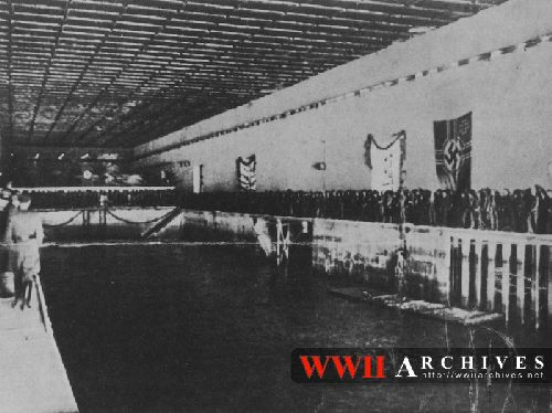 U-BUNKER 1941: L'INTERIEUR LORS DE L'INAUGURATION N° 7
