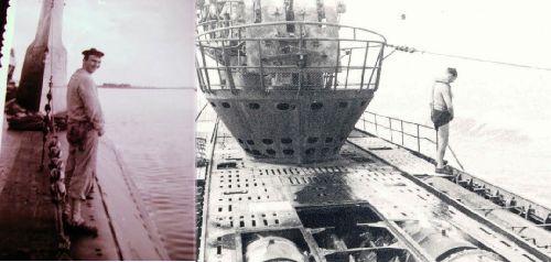 PIPI SUR BALLASTS NARVAL et U - 181