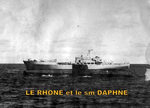 LE RHONE ET LA DAPHNE ...PAR BALDA28 CE 24.08.2010