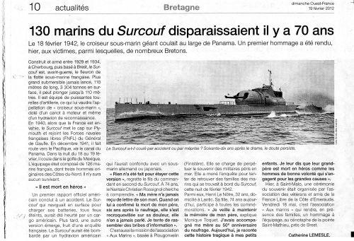 Le Surcouf 1942