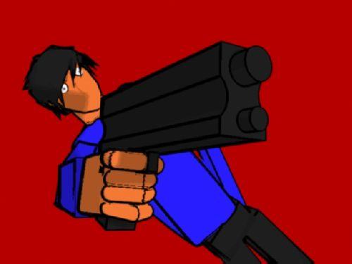 Kid with gun 4