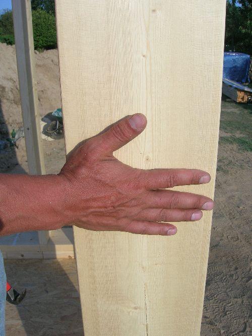 largeur des murs 195 mm