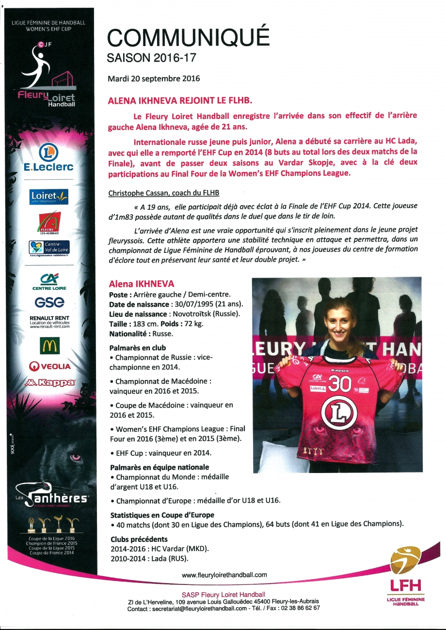 Scan Communiqué de presse Fleury Loiret Handball Saison 2016-20.jpg