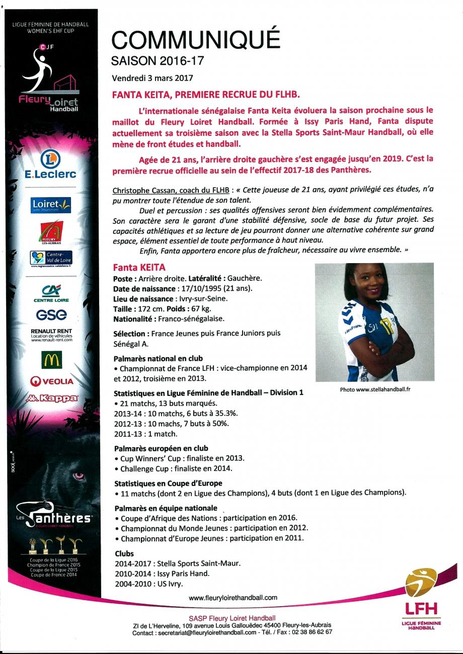Scan Communiqué de presse Fleury Loiret Handball N°2 (03.03.jpg