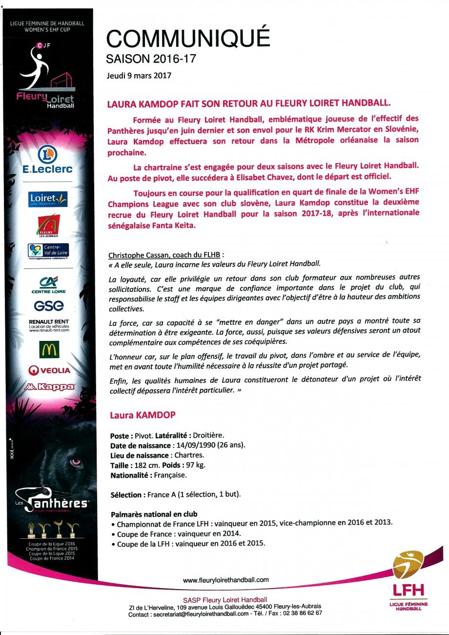 Scan Communiqué de presse Fleury Loiret Handball (09.03.jpg