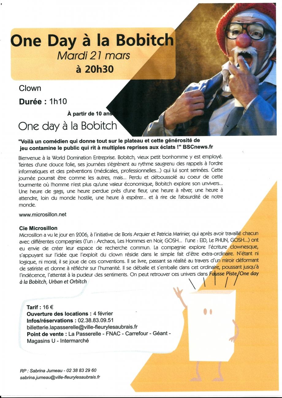 Scan Affiche La Passerelle one day à la bobitch 2017 ( 21.03.jpg