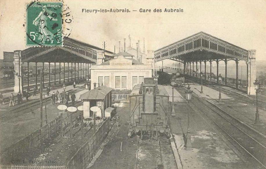 Gare des Aubrais début 20ème Siècle.jpg