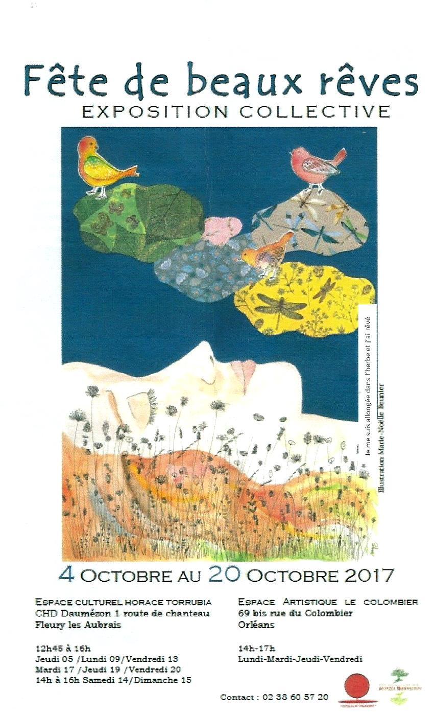 Scan Affiche Fête de beaux rêves Exposition Collective 2017 ( d.jpg