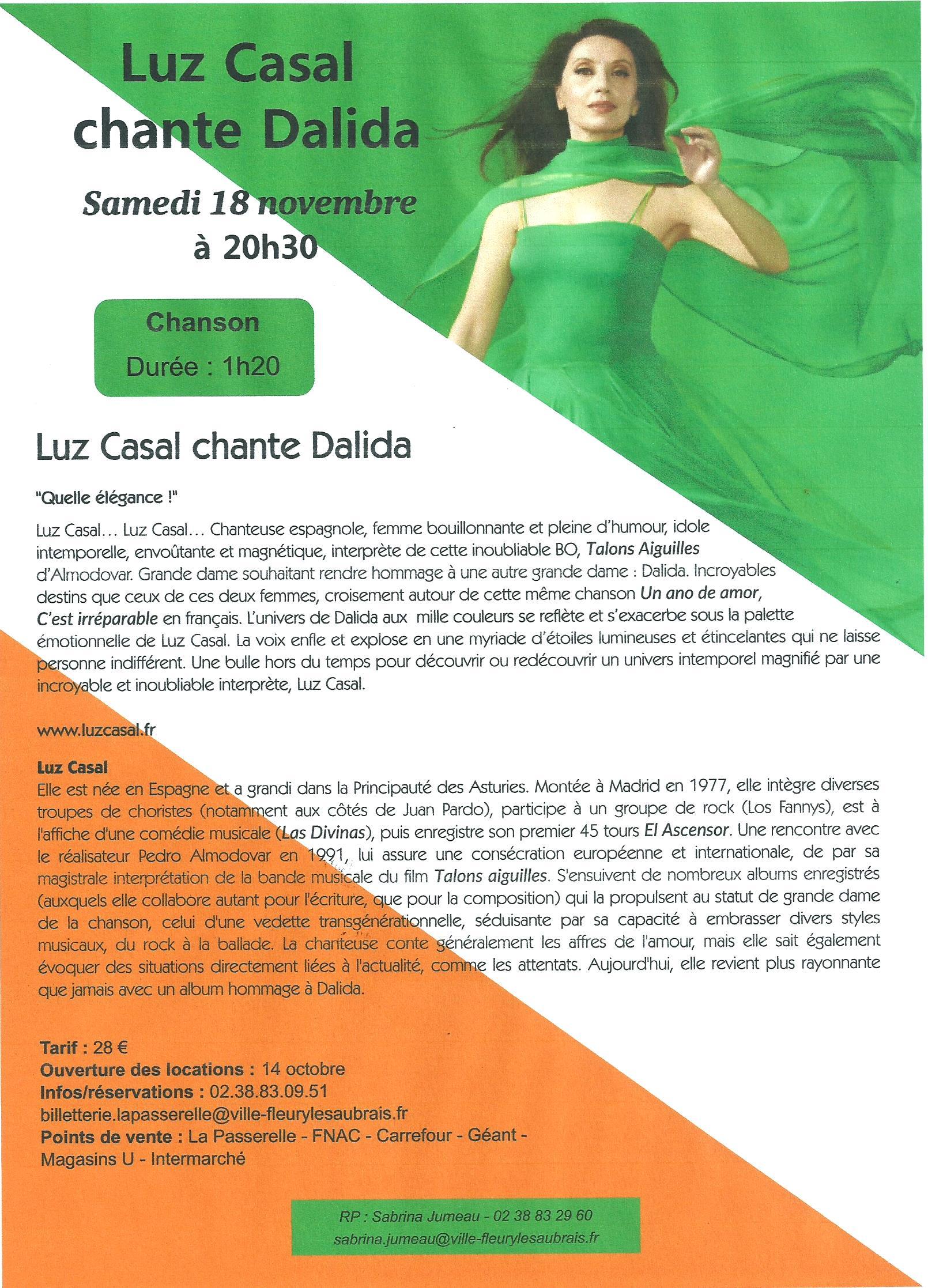 Scan Affiche La Passerelle. Luz Casal chante Dalida 2017 (18.jpg