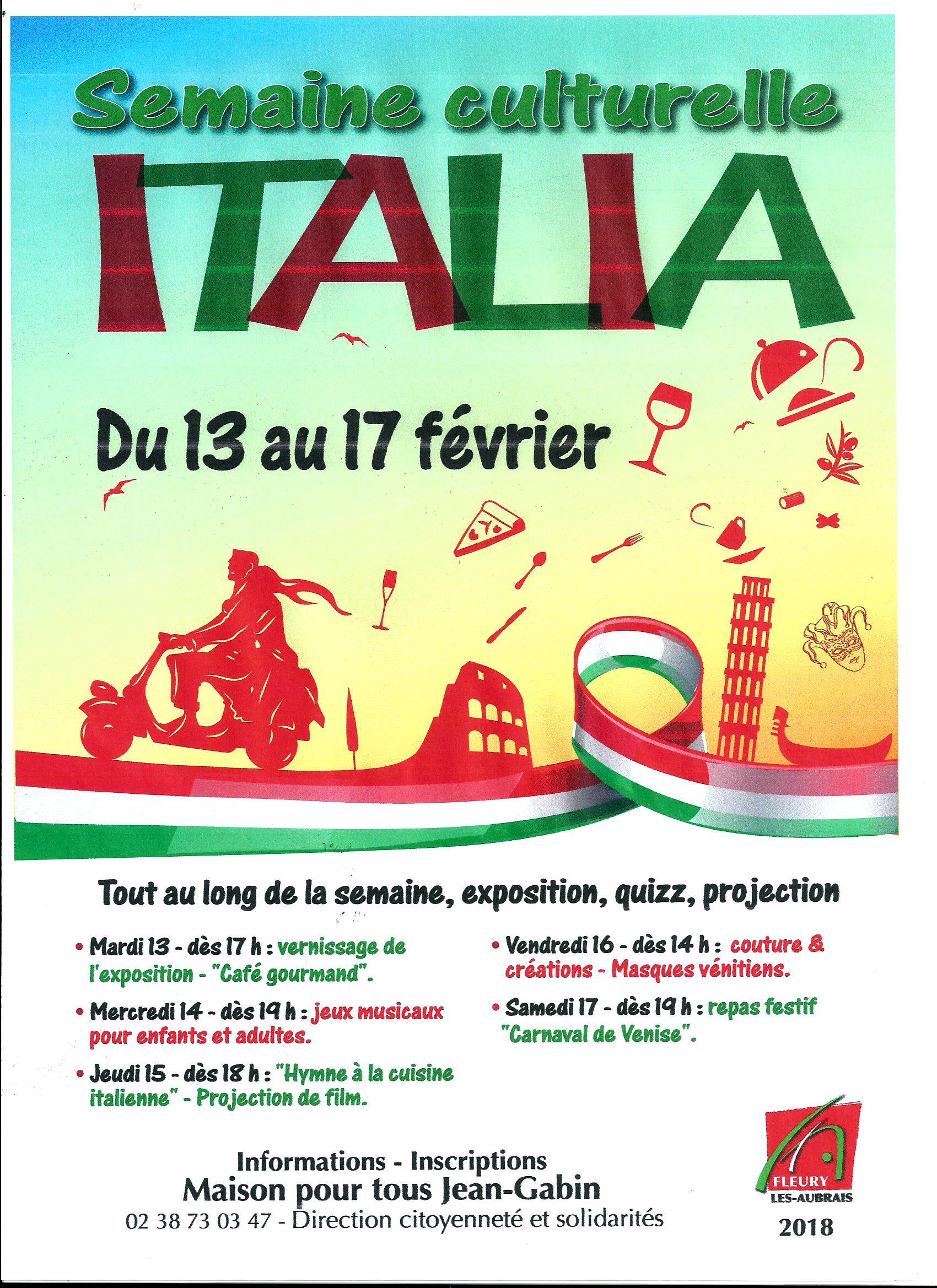 Scan Semaine culturelle ITALIA 2018 ( du 13 au 17 février 2018 .jpg