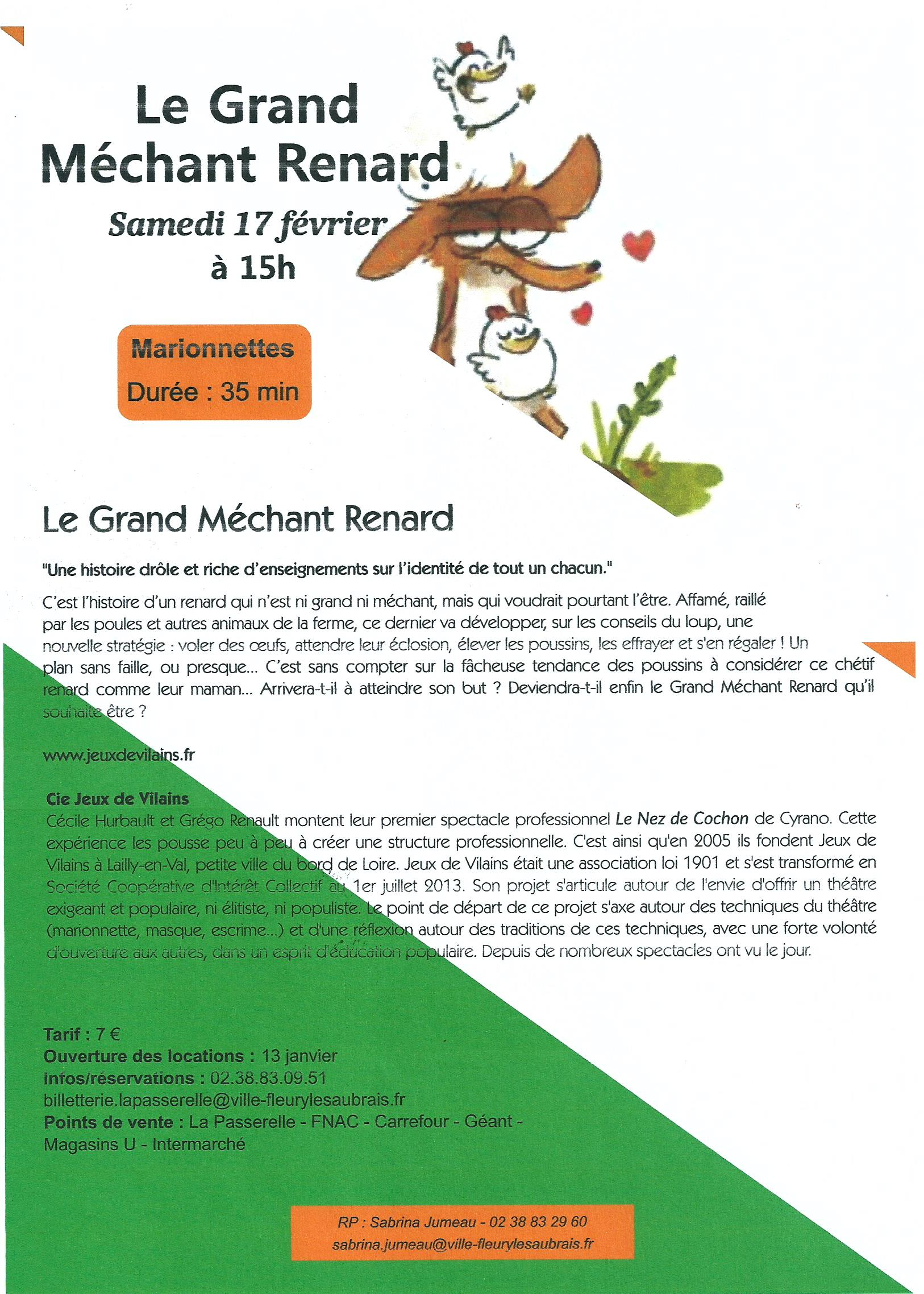 Scan Affiche La Passerelle 2018 Le Grand Méchant Renard (17.02.jpg