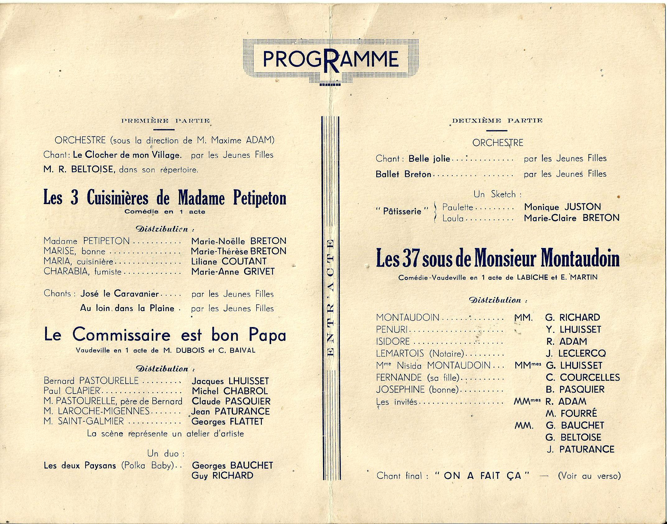 Scan Soirée théatrale salle de l'espérance N°1 1952 (30.11.jpg