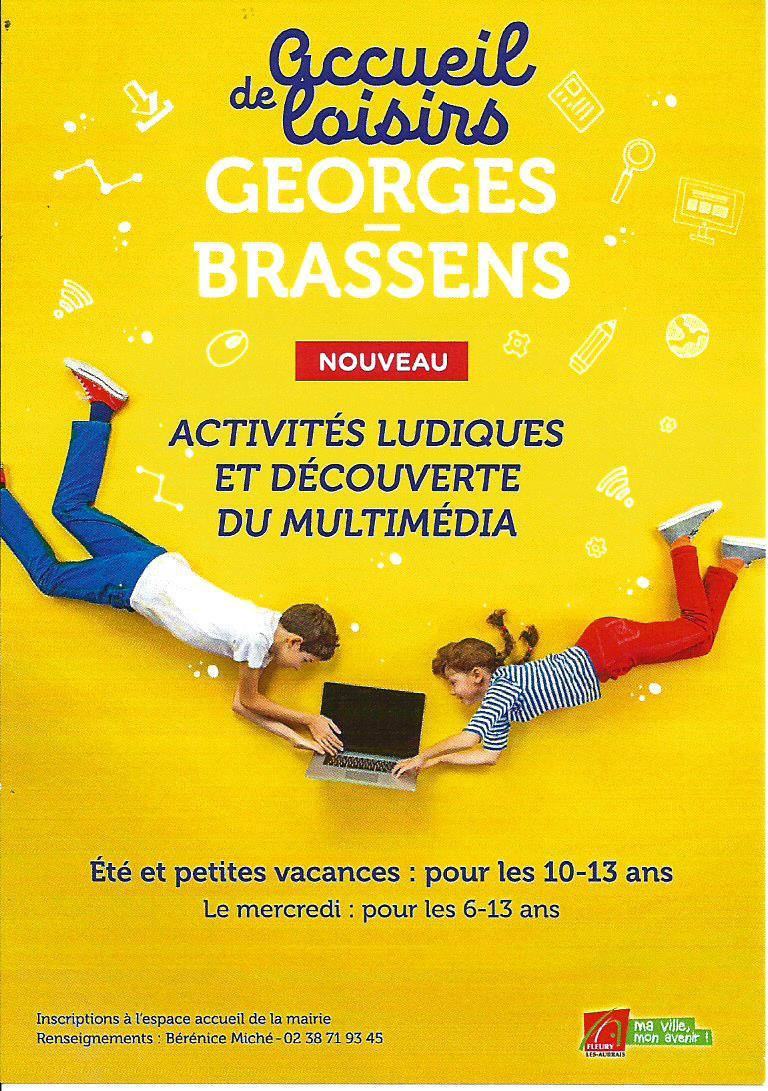 Scan Affiche Accueil de Loisirs Georges Brassens 2018..jpg