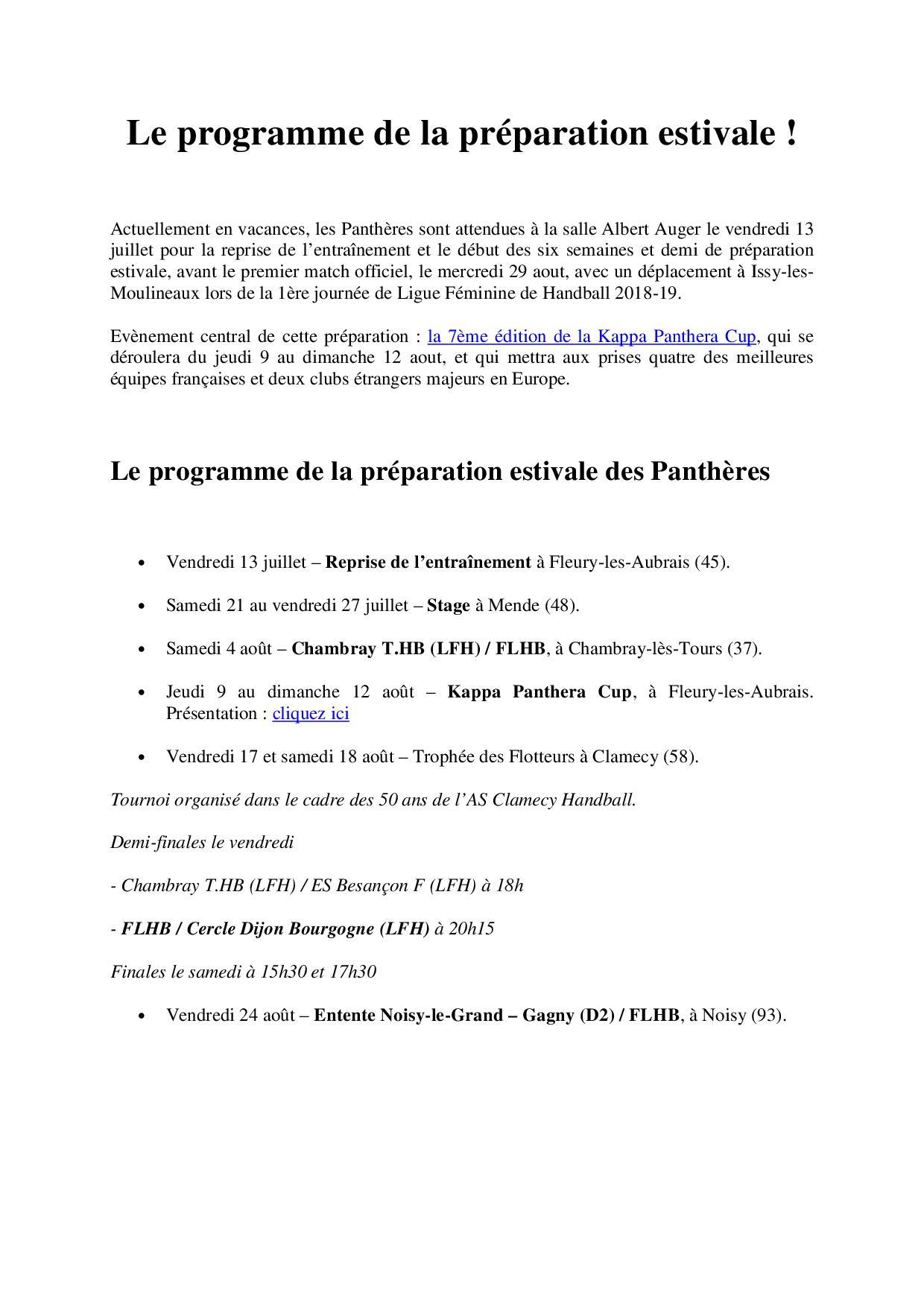 Le programme de la préparation estivale des Panthères 2018.jpg