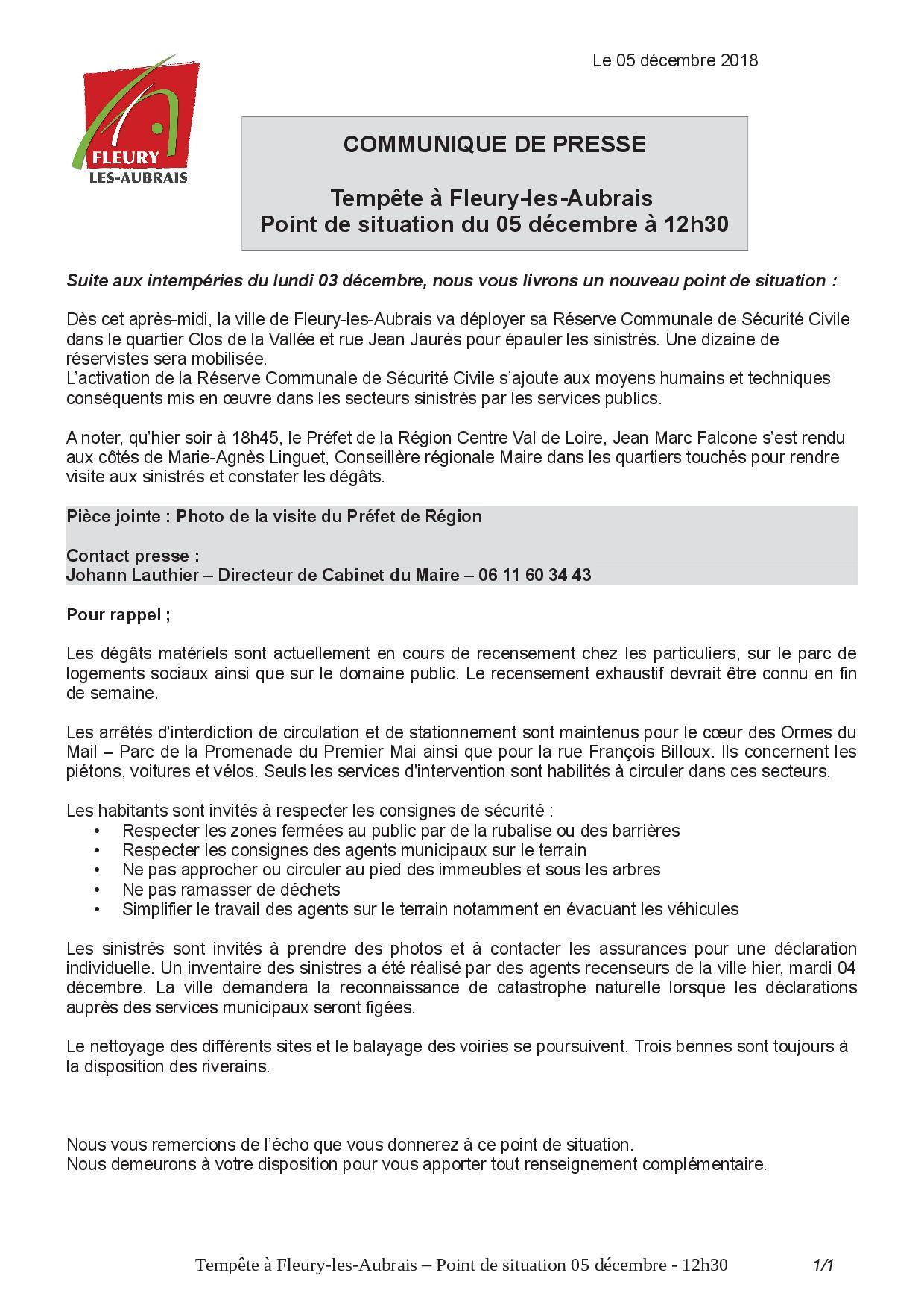 CP Tempête à Fleury-les-Aubrais - Point de situation n°4 - 05-12 - 12h30.jpg
